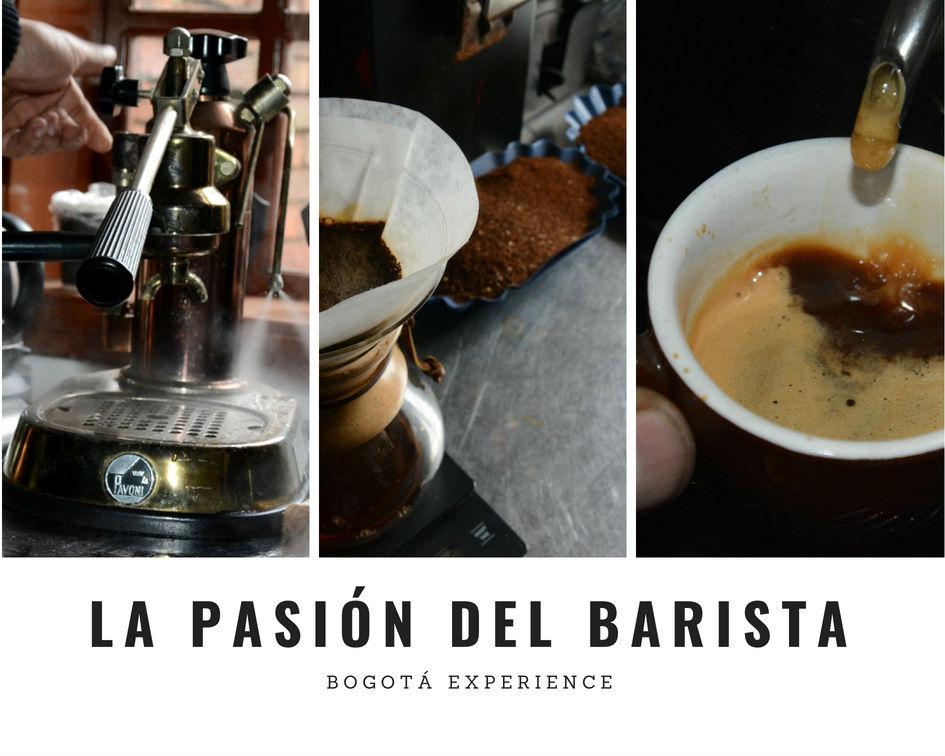 La pasión del barista i